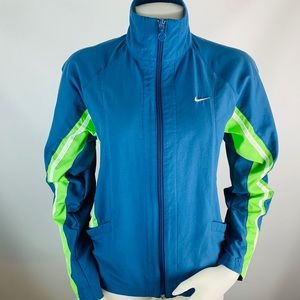 Vintage Nike Stitched Mini Swoosh Track Jacket